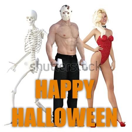 Halloween Stock photo © kentoh