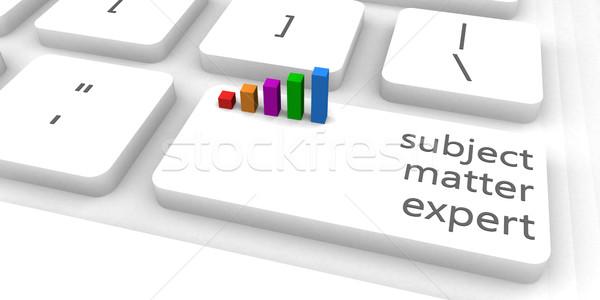 Expert clavier bar industrie clé Photo stock © kentoh