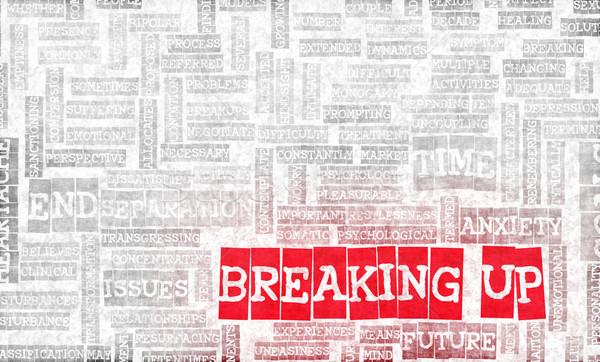 Breaking Up Stock photo © kentoh