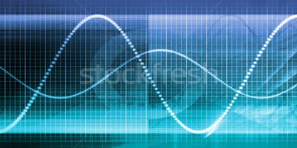 Timeline zarządzania strategii działalności wykres technologii Zdjęcia stock © kentoh