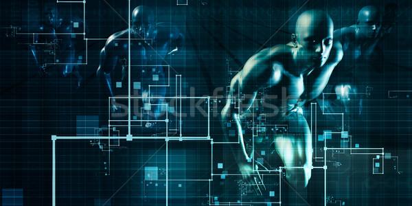 Dijital devrim yarış yeni tüketici teknoloji Stok fotoğraf © kentoh