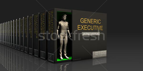 Générique exécutif fournir Emploi Photo stock © kentoh