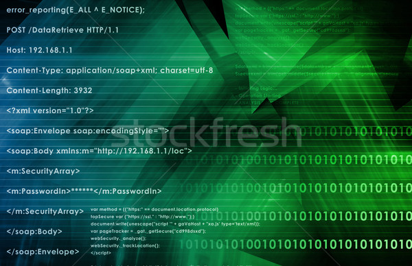 Software Diagnostics Stock photo © kentoh