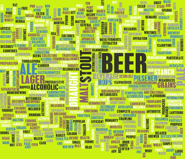 Beer Concept Stock photo © kentoh