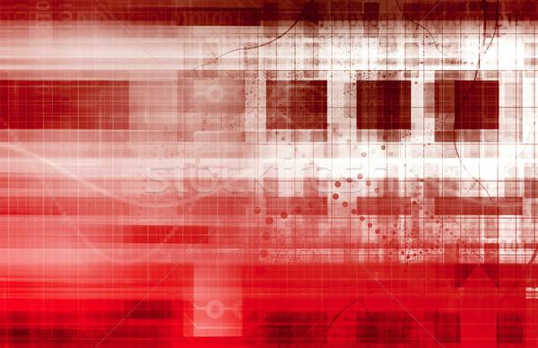 Science Futuristic Internet Stock photo © kentoh
