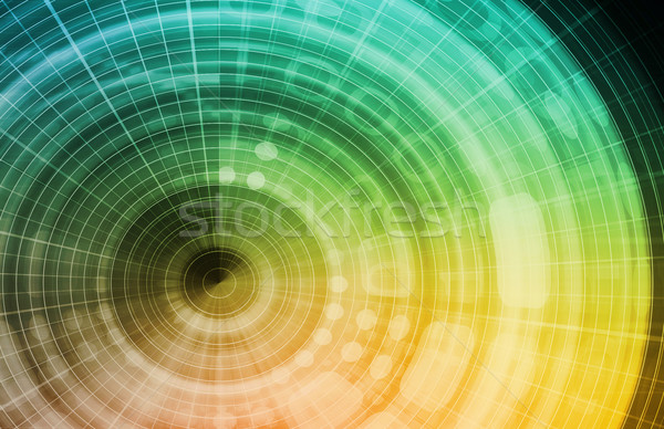 Technology Background Design Stock photo © kentoh