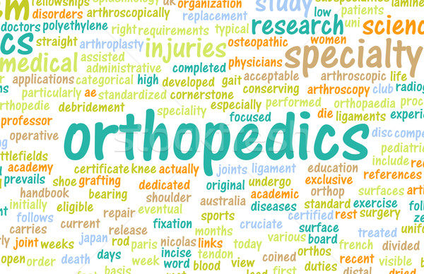 Orthopedics Stock photo © kentoh