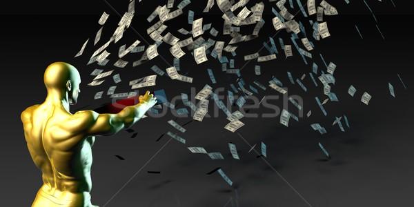 Sales and Profits Stock photo © kentoh