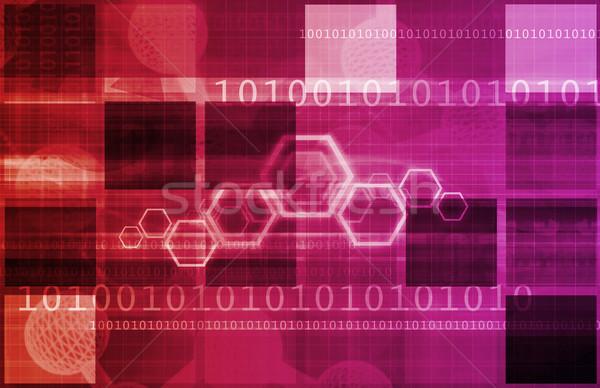 корпоративного связи новых технологий искусства Мир Сток-фото © kentoh