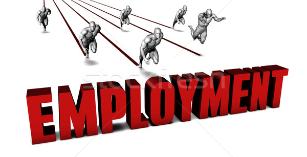 Higher Employment Stock photo © kentoh