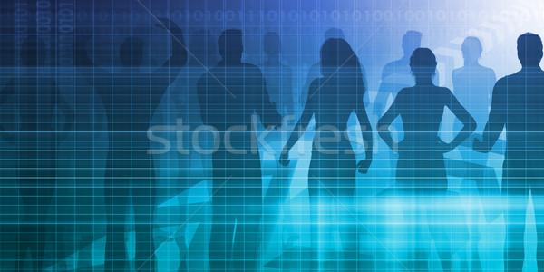 Personnel Management Stock photo © kentoh