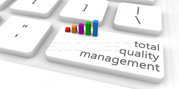 Total Quality Management Stock photo © kentoh
