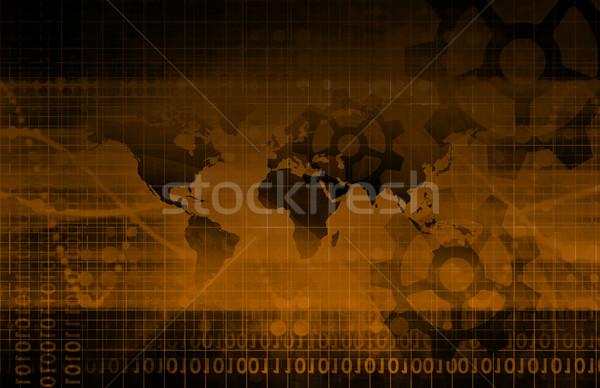 Globale integratie business internet technologie Stockfoto © kentoh