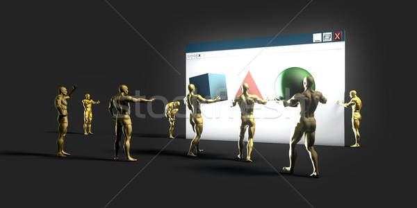 Web Development Company Stock photo © kentoh