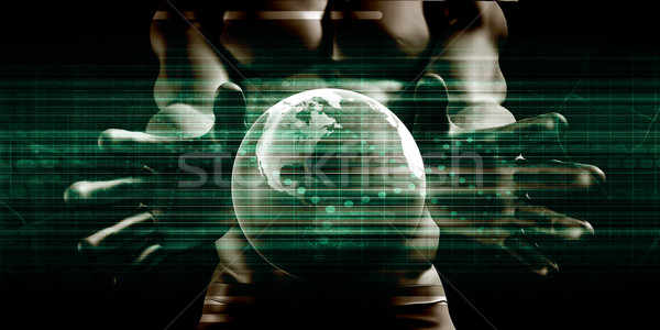 Global Accessibility of Technology Stock photo © kentoh