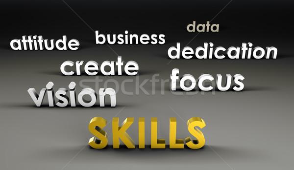 Skills at the Forefront Stock photo © kentoh