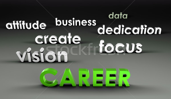 Career at the Forefront Stock photo © kentoh
