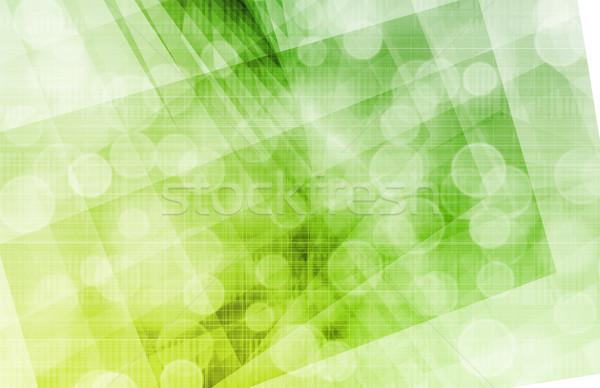 DNA biyoteknoloji kimya tıbbi sıvı Stok fotoğraf © kentoh