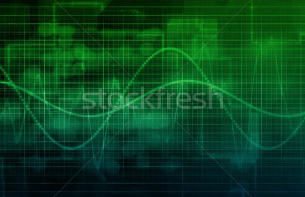 Negócio analítica tecnologia digital computador abstrato tecnologia Foto stock © kentoh