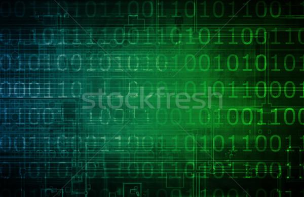 Háló technológiák nyereség online munka otthon Stock fotó © kentoh