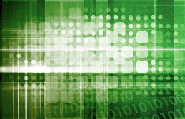 データ保護 セキュリティ センター ネットワーク 企業 会社 ストックフォト © kentoh