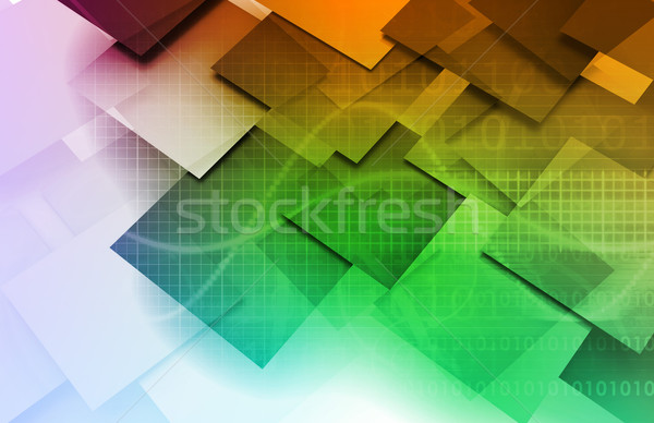 Antivirus Firewall Security Stock photo © kentoh