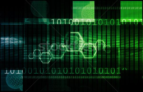 Bazy danych danych online sztuki tle czytania Zdjęcia stock © kentoh