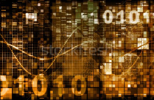 Statystyka informacji działalności streszczenie bar rynku Zdjęcia stock © kentoh