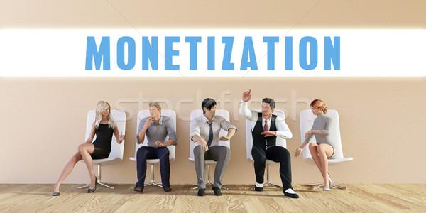 Business Monetization Stock photo © kentoh