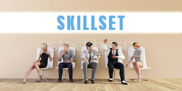 Business Skillset Stock photo © kentoh