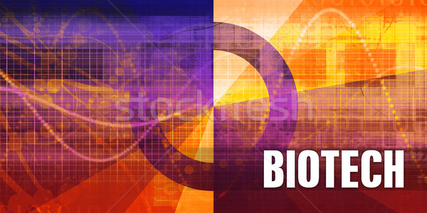 Biotech Stock photo © kentoh