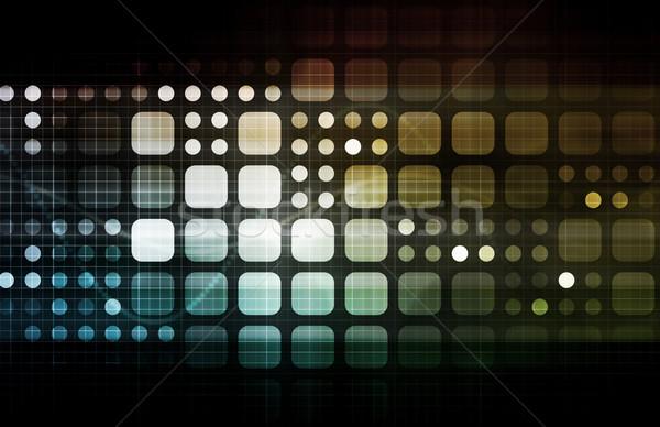 Moderne technologie medische industriële toekomst Stockfoto © kentoh