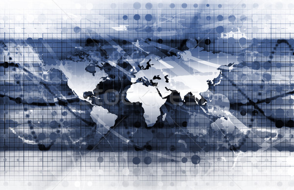 Global Solutions Stock photo © kentoh