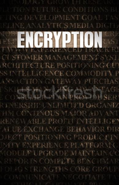 Stock fotó: Titkosítás · üzlet · motiváció · kőfal · fal · kő