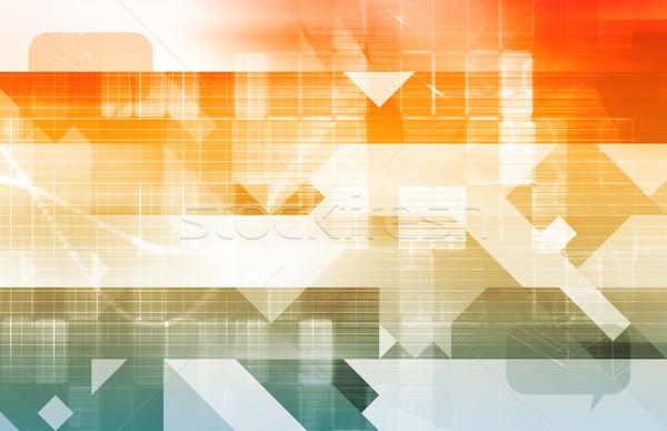 Data Modeling Stock photo © kentoh