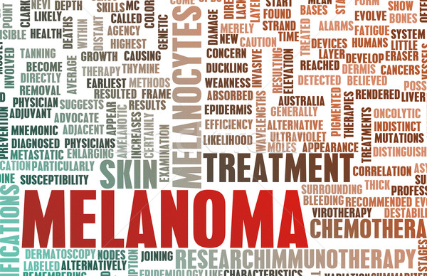 Melanoma Stock photo © kentoh