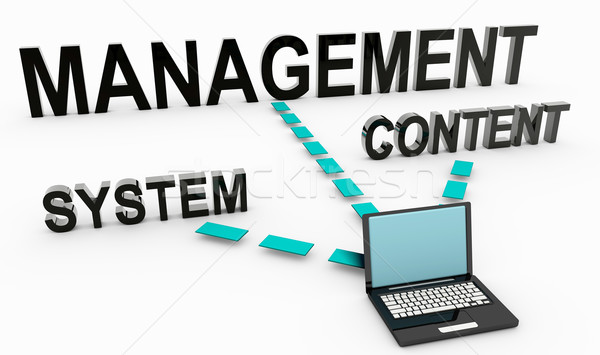 Content Management System Stock photo © kentoh