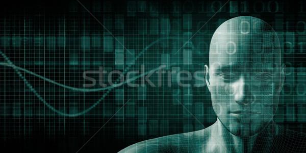 науки технологий тело аннотация природы модель Сток-фото © kentoh