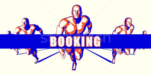 Booking Stock photo © kentoh