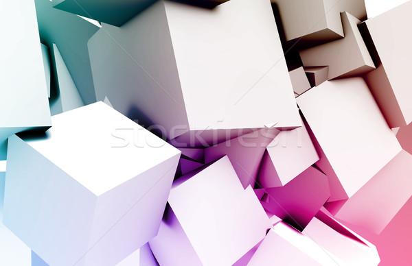 未来的な 技術 次 世代 芸術 抽象的な ストックフォト © kentoh