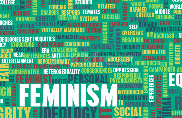 Stock photo: Feminism