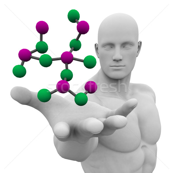 Dna biotech chimica medici liquido Foto d'archivio © kentoh