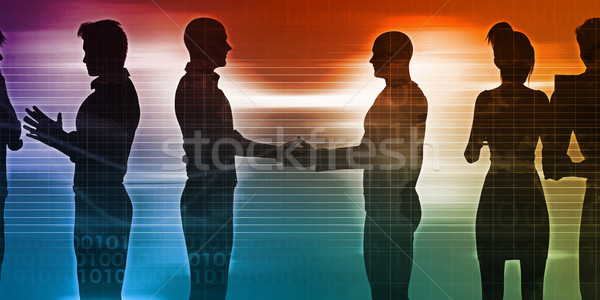 Business Networking Session Stock photo © kentoh