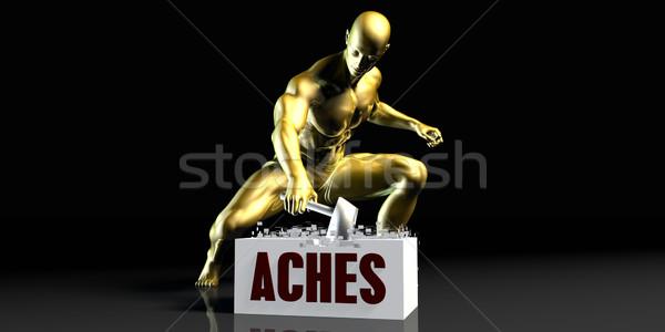 Aches Stock photo © kentoh