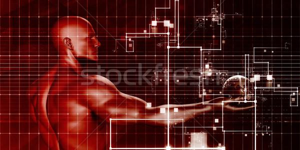 Orvostudomány modern technológia orvosi tudomány ipari Stock fotó © kentoh