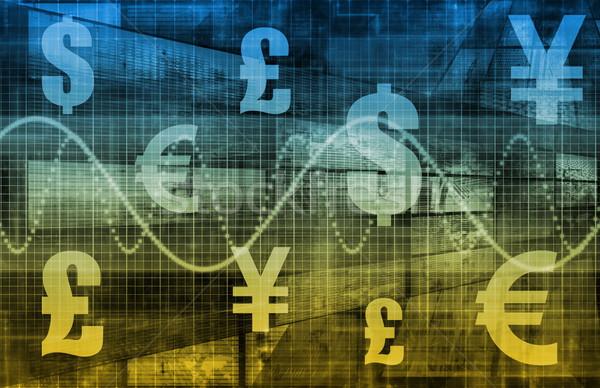 Pénzügyi tervezés vagyon üzlet háttér vállalati jövő Stock fotó © kentoh