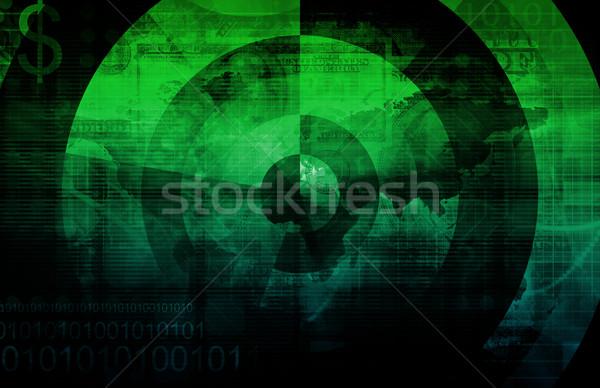 Business integratie model achtergrond informatie engineering Stockfoto © kentoh