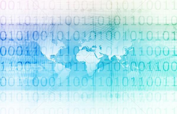 Affaires intelligence entreprise monde art résumé Photo stock © kentoh