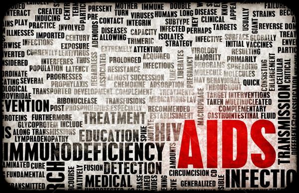 AIDS Stock photo © kentoh