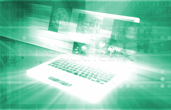 Business Technology Stock photo © kentoh